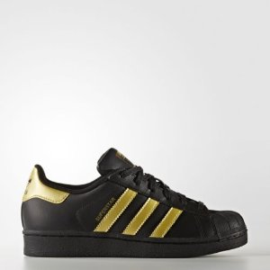 adidas Superstar Shoes Kids' Black  | eBay