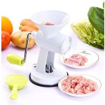 Pictek Meat Grinder and Vegetable Grinder, Meat Mincer Sausage Maker with Powerful Suction Base, Food Grade Stainless Steel Blades, ideal for Grind Meat, Vegetables, Garlic, Fruits, etc.