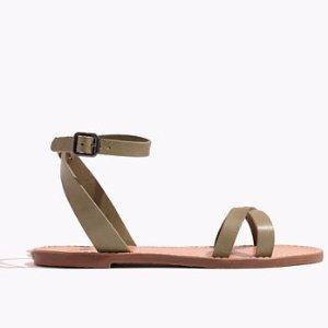 The Boardwalk Ankle-Wrap Sandal