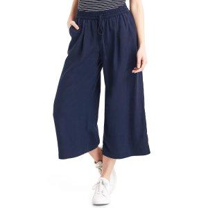 TENCEL™ drapey culottes | Gap