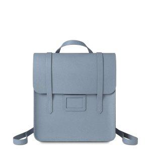 French Grey Safiano Folio Backpack | The Cambridge Satchel Company