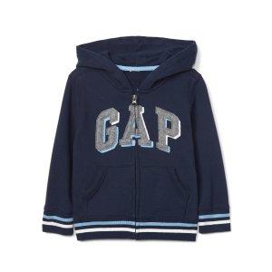 Shadow logo zip hoodie | Gap