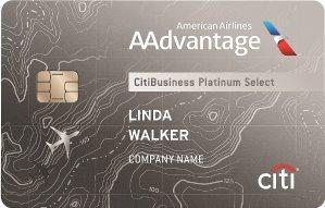 Earn 60,000 American Airlines AAdvantage® bonus milesCitiBusiness® / AAdvantage® Platinum Select® World Mastercard®