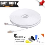 CableMonsta Cat7 Flat Ethernet Cable