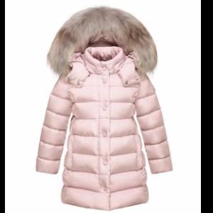 Little Girl's & Girl's Neste Fox Fur Trim Down Jacket