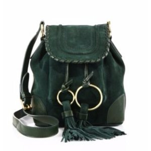 See by Chloe- Small Polly Suede Bucket Bag - saks.com