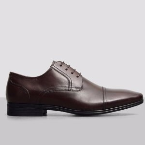 Deter-Min-Ed Leather Cap-Toe Oxford