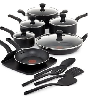 $60 After RebateT-Fal Culinaire 16-Pc. Cookware Set
