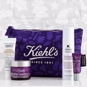 全场8折! 限量礼盒+唇膏也包括闪购:Kiehl's 全场12小时限时优惠 明早截止