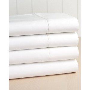 Elite Home 400TC Hemstitch 100% Cotton Sheet Set