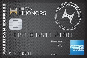 Limited Time Offer: Earn 100,000 Hilton Honors Bonus Points. Terms Apply.Hilton Honors™ Surpass® Card from American Express