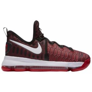 Nike KD 9 - Boys' Grade School - Basketball - Shoes - Durant, Kevin - University Red/White/Black