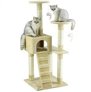 7.5折限今天:Amazon.com 精选 Go Pet Club 猫爬架一日促销