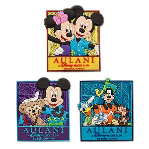 Mickey Mouse and Friends Magnet Set - Aulani, A Disney Resort & Spa | Disney Store