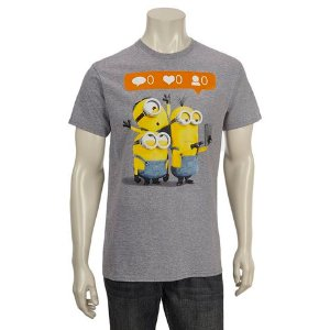 Minions Guys Selfie Screen Tee: Shopko