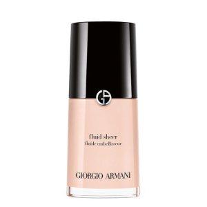 Fluid Sheer Highlighter Makeup   Giorgio Armani Beauty
