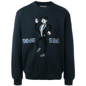 Dolce & Gabbana Musician Patch Sweatshirt - Farfetch