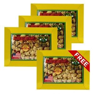 花旗(西洋)參圓泡珍珠小號3oz盒裝4盒套組(買3送1)