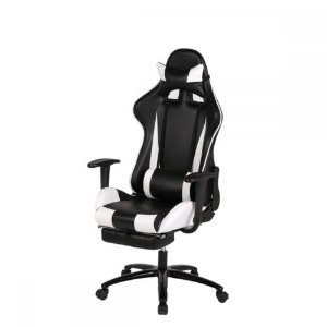 White Gaming Chair High-back Computer Chair Ergonomic Design Racing Chair RC1 | eBay