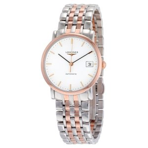 $1349LONGINES Elegant Automatic White Dial 34.5 mm Watch No. L4.809.5.12.7