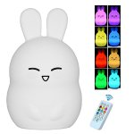 Cute Bunny Nursery Night Light