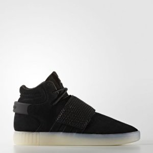adidas Tubular Invader Strap Shoes Men's Black  | eBay