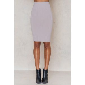 Ribbed the Right Way Midi Skirt - Buy online | NA-KD