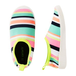 Toddler Girl Carter's Striped Water Shoes | Carters.com