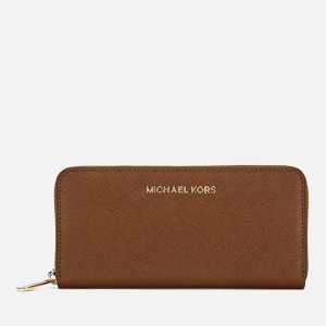 MICHAEL MICHAEL KORS Women's Jet Set Travel Purse - Luggage - Free UK Delivery over £50