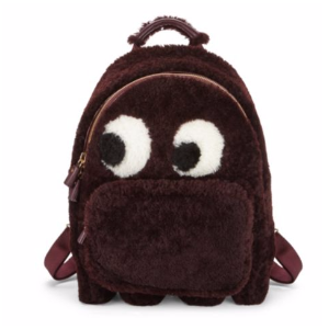 Anya Hindmarch - Mini Ghost Faux Fur Backpack - saksoff5th.com