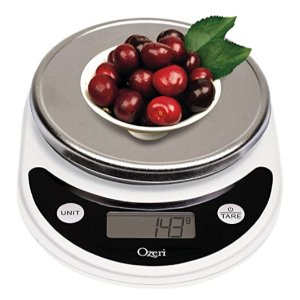 $7.75 Lowest price Ozeri Pronto Digital Multifunction Kitchen and Food Scale, White