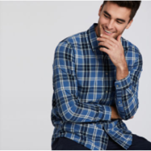 Timberland | Men's Gale River Raw Cotton Check Shirt