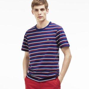 $35.99($60)Lacoste Men's Stripe Crewneck T-Shirt