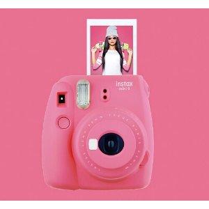 Fujifilm instax mini 9 Instant Film Camera Pink 16550631 - Best Buy