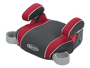 Graco Backless Turbo Booster Car Seat, Chili Red