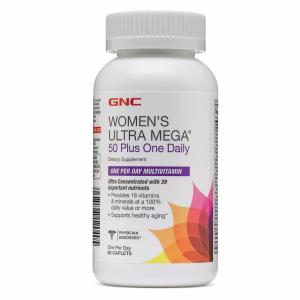 Women's ULTRA MEGA® 50 Plus One Daily