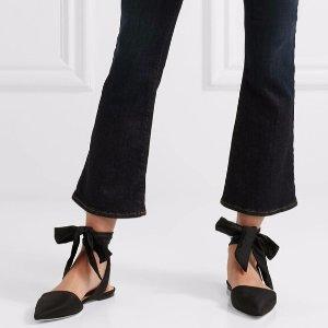低至4.5折 收复古尖头绑带鞋Saks Off 5th 精选 Sam Edelman 女士夏季美鞋热卖