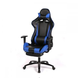 New Blue Gaming Chair High-back Computer Chair Ergonomic Design Racing Chair RC1 | eBay
