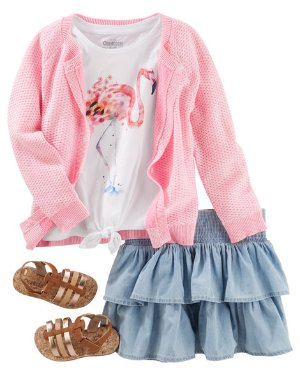 Buy 1 Get 2 Free Select Items!Kids Apparel Complete Looks  @ OshKosh BGosh