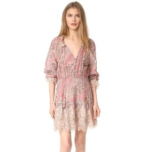 Zimmermann Tulsi Paisley Mini Dress | 15% off first app purchase with code: 15FORYOU
