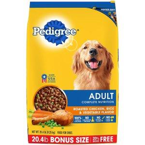 $2.44PEDIGREE 狗粮20磅