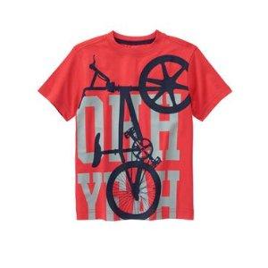 Boys True Red Bike Tee by Gymboree