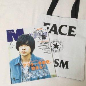 $7.27 / RMB47 直邮中美Men's Nonon 日本男性流行杂志 送FACE TASM 帆布包