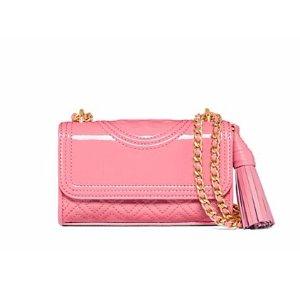 Tory Burch Fleming Patent Micro Shoulder Bag : Women's New Arrivals