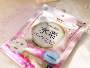 $5.97COTTON LABO Water Hydrogen Sheet Mask 3 sheets @Amazon Japan