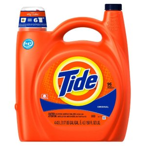 Tide 150 oz. Original Scent HE Liquid Laundry Detergent (96 Loads)-003700023068 - The Home Depot
