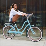 Firmstrong ANYjourney Women's 7-Speed Bicycle, Teal