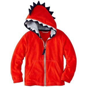 Boys Open Wide Hoodie In Sunsoft Terry