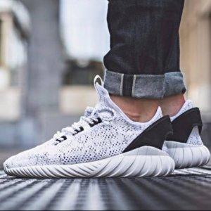 低至5折包邮adidas 男鞋折扣区上新 Tubular EQT 复古跑鞋系列折上折热卖