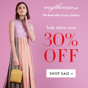 30% off2017 Spring Summer Collection @ Mytheresa